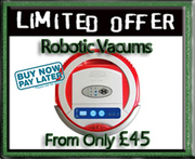 ROBOTIC VACUUMs from £45