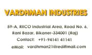 Vardhman besan manufacturers