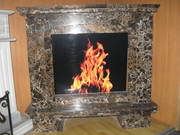 EMPERADORGOLD Marble fireplace
